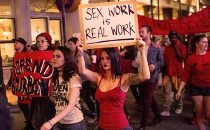 Sex workers protest craigslist personals being taken down